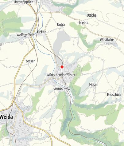Mapa / Pelikanbrunnen Wünschendorf