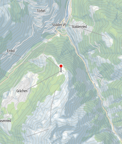 Karte / Repair Station Grächen