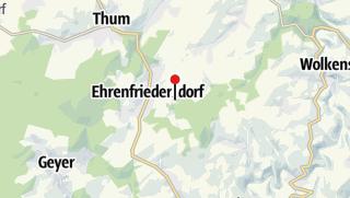 """Karte / Gaststätte & Pension """"Sommerfrische"""""""