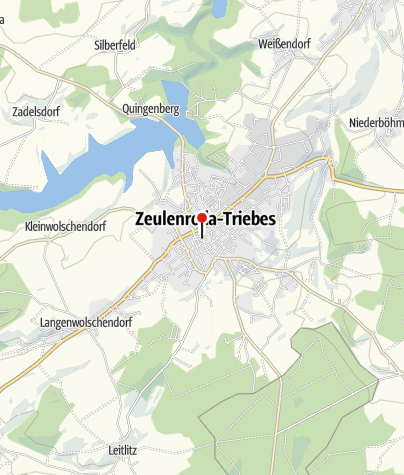 Map / Hotel und Gaststätte Goldener Löwe Zeulenroda