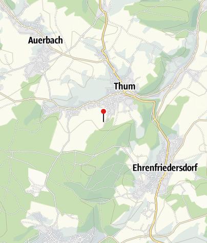 Karte / Tennisanlage in Thum