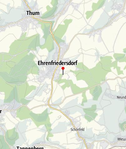 Karte / Segway Tour - Saubergtour Ehrenfriedersdorf