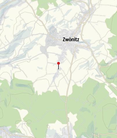 """Karte / E-Bike Ladestation am Landgasthof """"Grüner Garten"""""""