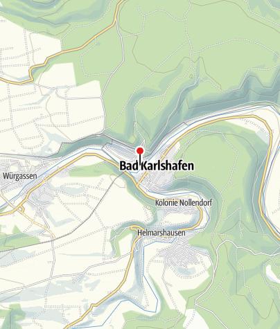 Karte / Fahrradvermietung im Weserbergland