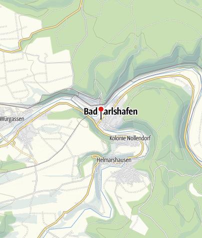 Karte / Öffentliche Toilette, Bad Karlshafen