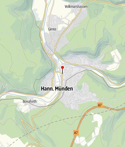 Karte / Öffentliche Toilette, Hann. Münden