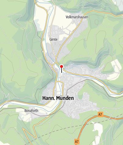Karte / Öffentliche Toilette Hann. Münden