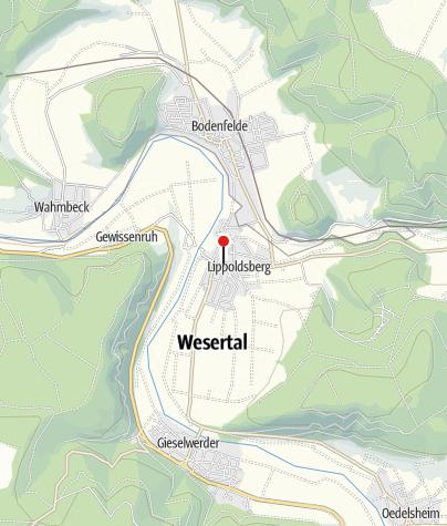 Karte / Öffentliche Toilette, Wesertal-Lippoldsberg
