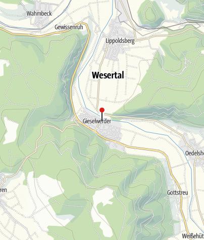 Karte / Öffentliche Toilette, Wesertal-Gieselwerder