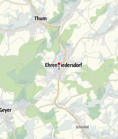 Karte / Ferienwohnung Alter Bahnhof