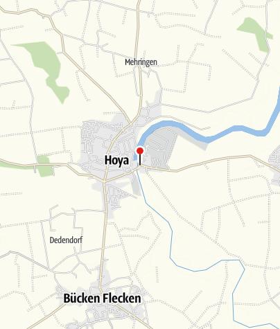 Karte / Öffentliche Toilette, Hoya