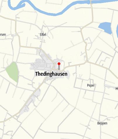 Karte / Öffentliche Toilette, Thedinghausen