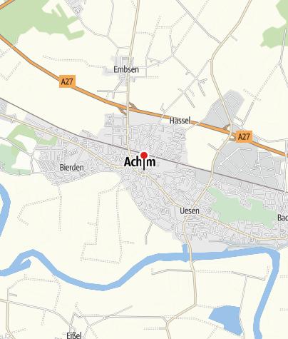 Karte / Öffentliche Toilette, Achim