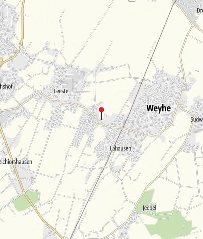 Karte / Öffentliche Toilette, Weyhe