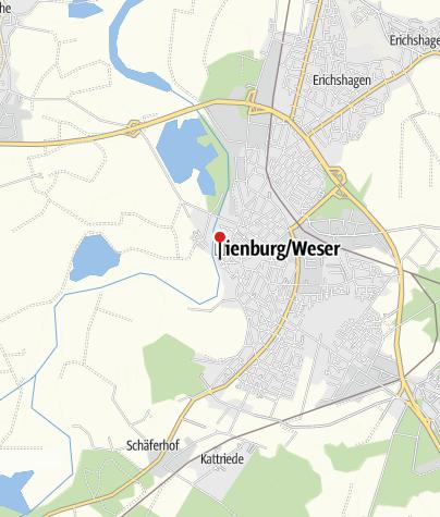 Karte / E-Bike Ladestation, Nienburg