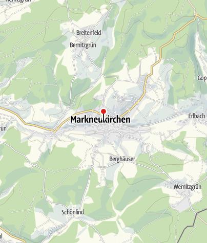 Karte / St. Nicolaikirche Markneukirchen