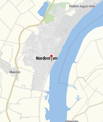 Karte / Öffentliche Toilette, Nordenham