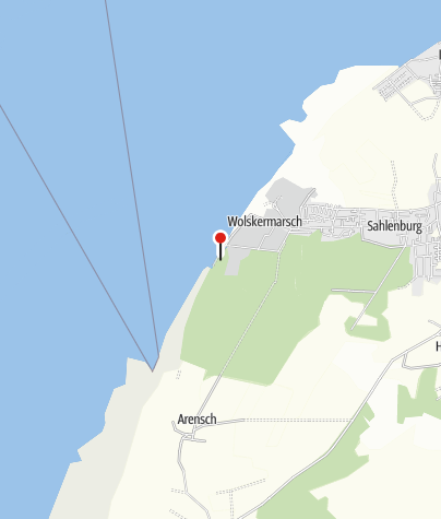 Karte / Öffentliche Toilette, Cuxhaven