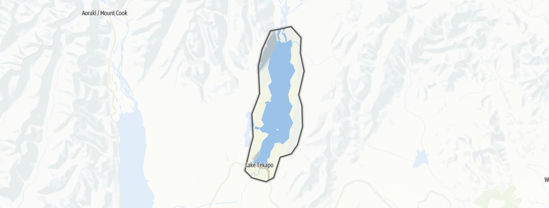 Karte / Lake Tekapo