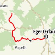 Map / Termáltúra, Eger - Bükkszék