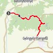 Map / Termáltúra, Pásztó - Gyöngyös