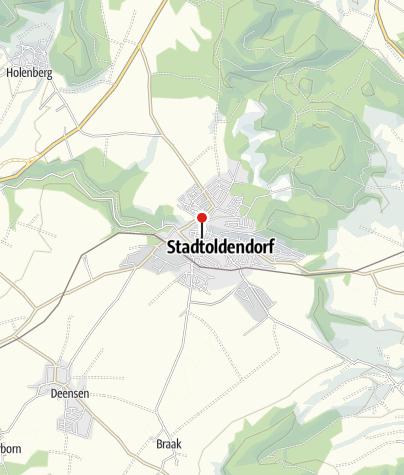 Karte / Touristinformation im Rathaus Stadtoldendorf