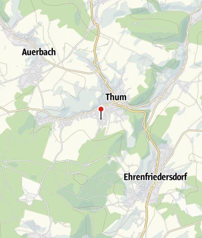 Karte / Ferienblockhaus Erzgebirge