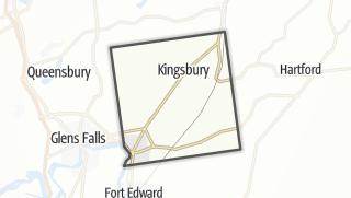 Karte / Kingsbury