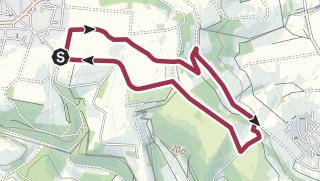 Karte / Wanderroute KH 3