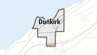 Karte / Dunkirk
