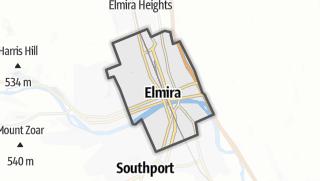 Karte / Elmira