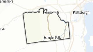 Karte / Schuyler Falls