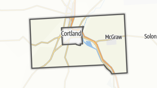 Karte / Cortlandville