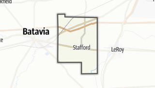 Karte / Stafford