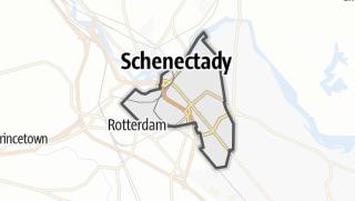 Karte / Schenectady