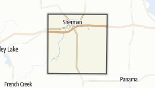 Karte / Sherman