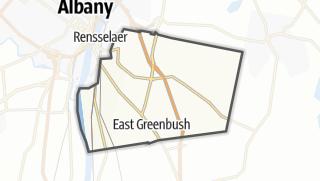 Karte / East Greenbush