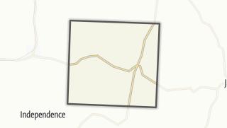Karte / Greenwood