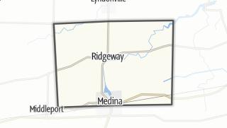 Karte / Ridgeway