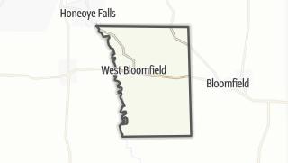 Karte / West Bloomfield