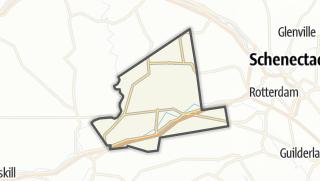 Karte / Duanesburg