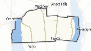 Karte / Fayette
