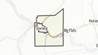 Karte / Corning