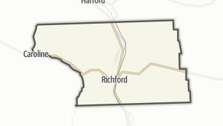 Karte / Richford