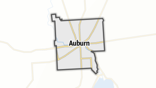 Karte / Auburn
