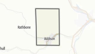 Karte / Addison