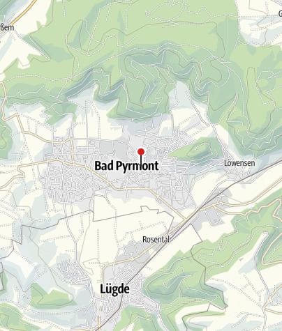 Karte / Fundbüro Bad Pyrmont