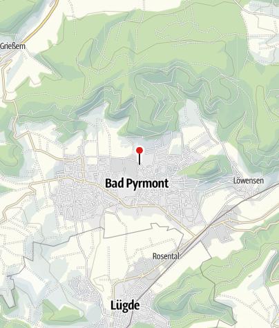 Karte / Jüdischer Friedhof -Stolpersteine