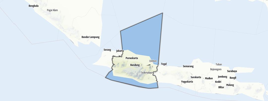 Karte / Jawa Barat