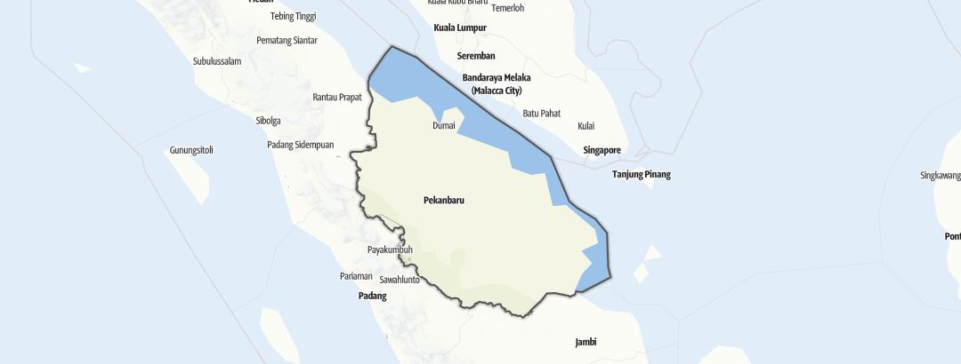 Karte / Riau